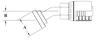 Split Flange (Code 61) 30° Bend