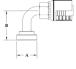 Split Flange (Code 62) 90° Bend